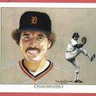 1984 Tiger Wave Willie Hernandez Oddball Detroit Tigers
