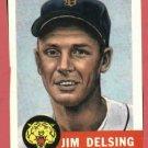 1953 Topps Archives Jim Delsing Detroit Tigers 1991