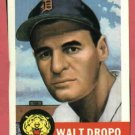 1953 Topps Archives Walt Dropo Detroit Tigers 1991