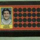 1981 Topps Scratch Off Lance Parrish Detroit Tigers