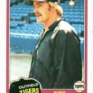 1981 Topps Kirk Gibson ROOKIE Detroit Tigers