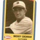 1990 Swell Baseball Greats Mickey Cochrane Oddball Error Detroit Tigers