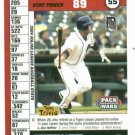 2005 Topps Pack Wars Carlos Guillen Detroit Tigers