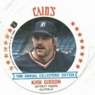 1986 Cains MSA Disc Kirk Gibson Detroit Tigers ODDBALL Unopened