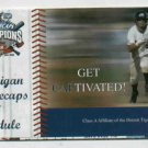2008 Western Michigan Whitecaps Pocket Schedule Detroit Tigers