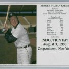 Al Kaline Hall Of Fame Induction Day Card Limited To 1000 Detroit Tigers