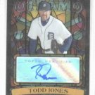 2008 Topps Stadium Club Beam Team Todd Jones Auto Detroit Tigers