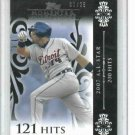 2008 Topps Moments & Milestones Placido Polonco Detroit Tigers #d 1/25    1/1   121 Hits