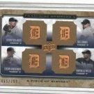 2008 Upper Deck Piece Of History Verlander Zumaya Bonderman Willis Detroit Tigers #d 465/799