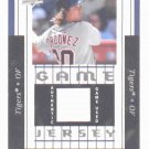 2008 Upper Deck Magglio Ordonez Game Jersey Detroit Tigers