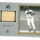 2001 SP Legendary Cuts Lou Whitaker Bat Card Detroit Tigers