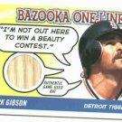 2004 Topps Bazooka Kirk Gibson Bat Card Detroit Tigers