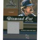 2003 Donruss Diamond Kings Diamond Cut Jack Morris Jersey Card Detroit Tigers