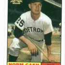 2002 Topps Archives Norm Cash 1962 Reprint Detroit Tigers