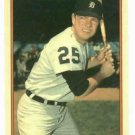 1985 Circle K Norm Cash Detroit Tigers Card Oddball