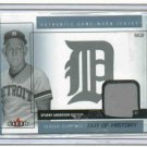 2005 Fleer Classic Clippings Sparky Anderson Jersey Card Detroit Tigers