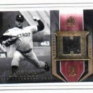 2004 SP Legendary Cuts Mickey Lolich Jersey Card Detroit Tigers