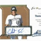 2006 Just Minors Clete Thomas Autograph Card Detroit Tigers Whitecaps