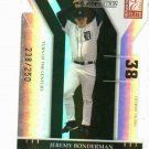 2004 Donruss Elite Extra Die Cut Jeremy Bonderman Detroit Tigers #d /250