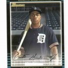 2002 Bowman Draft Curtis Granderson ROOKIE Detroit Tigers New York Yankees