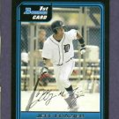 2006 Bowman Jeff Frazier Detroit Tigers ROOKIE
