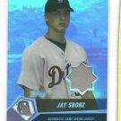 2004 Topps Stars Jay Sborz Jersey /25 ROOKIE Detroit Tigers