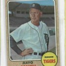 1968 Topps Mayo Smith Detroit Tigers # 544