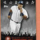 2009 Topps Town Miguel Cabrera Gold & Silver Detroit Tigers 2 cards