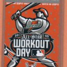 2005 Home Run Derby Ticket Comerica Park Detroit Tigers