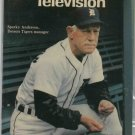 Detroit News TV Magazine 1986 Sparky Anderson Oddball Cover Tigers