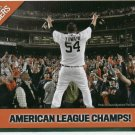 2006 Detroit News AL Champs Joel Zumaya Collector Card Tigers Oddball