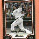 2009 Bowman Magglio Ordonez Detroit Tigers
