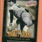 1997 Fleer Million Dollar Moments Mickey Lolich Detroit Tigers
