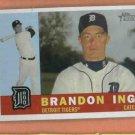 2009 Topps Heritage Brandon Inge Detroit Tigers