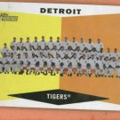 2009 Topps Heritage Detroit Tigers Team Card # 72