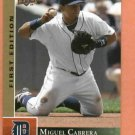 2009 Upper Deck First Edition Miguel Cabrera Detroit Tigers