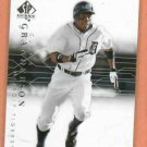 2008 Upper Deck SP Curtis Granderson Detroit Tigers