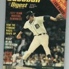 April 1977 Baseball Digest Mark Fidrych Detroit Tigers Oddball
