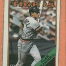 1988 O- Pee- Chee Alan Trammell Detroit Tigers