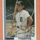 1982 Topps Alan Trammell Detroit Tigers