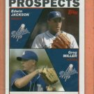 2004 Topps Edwin Jackson ROOKIE Detroit Tigers Dodgers