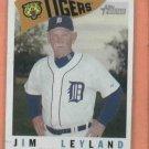2009 Topps Heritage Jim Leyland Detroit Tigers