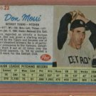 1962 Post Don Mossi # 23 Detroit Tigers