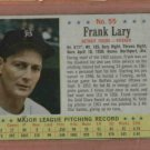 1963 Post Frank Lary # 55 Detroit Tigers