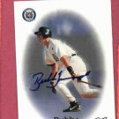 1998 Best Card Bubba Trammell Certified Autograph Detroit Tigers
