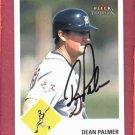 2003 Fleer Tradition Dean Palmer Detroit Tigers Autograph