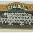 1972 Topps Detroit Tigers Team Card # 487 NICE !!!!!