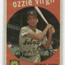 1959 Topps Ozzie Virgil Detroit Tigers # 203 Nice !!!!