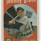 1959 Topps Johnny Groth Detroit Tigers # 164 NICE !!!!!