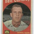 1959 Topps Neil Chrisley Detroit Tigers NICE !!!!! # 189